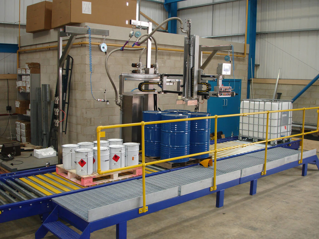 ft-200 liquid filling system